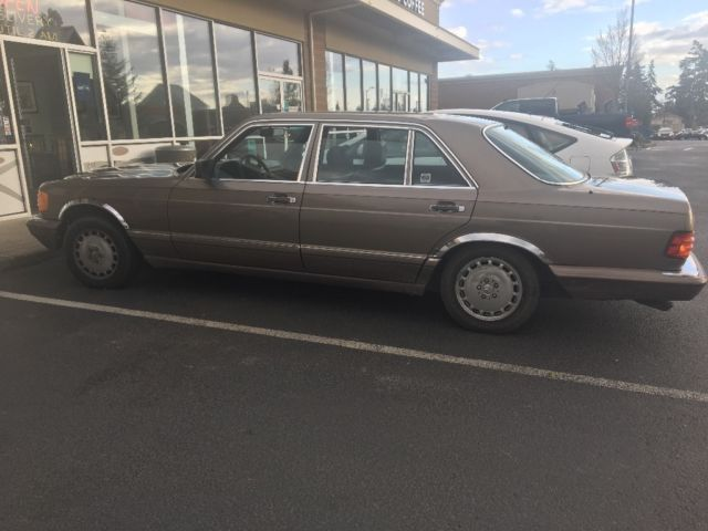 1987 mercedes benz 560sel no reserve for sale in seattle for Mercedes benz for sale seattle