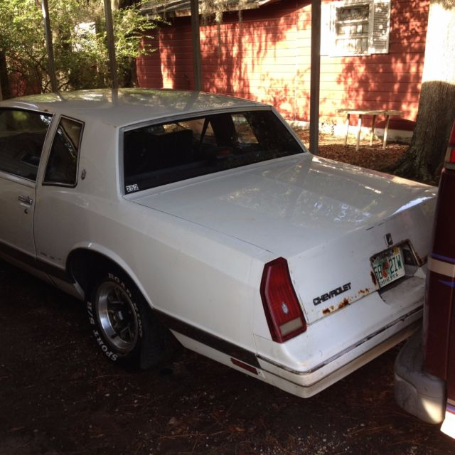 1987 Monte Carlo For Sale In Jacksonville, Florida, United