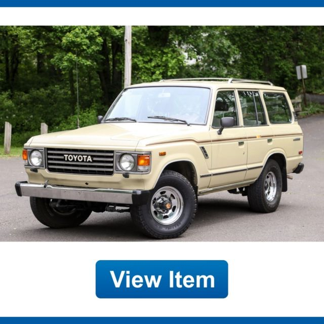 Fj62 diesel for user guide user manuals array 1987 toyota land cruiser 138k mi 4wd manual l6 fj60 clean carfax rh classiccarsexport fandeluxe Image collections