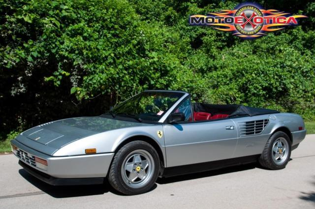 1988 ferrari mondial cabriolet 3 2 for sale in local pick up only. Black Bedroom Furniture Sets. Home Design Ideas