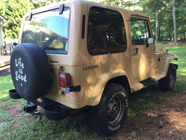 Cars For Sale Newnan Ga 2000: 1988 JEEP WRANGLER SAHARA EDITION 4X4 For Sale In Newnan