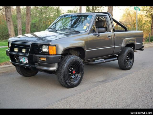 1988 Toyota Pickup Sr5 2dr 3re 5 Speed Manual Tacoma 5 Speed Manual 2 Door Truck For Sale In
