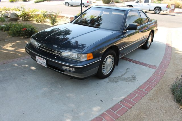 Blue Acura Legend Coupe Low Mileage Original Miles For - Acura legend for sale