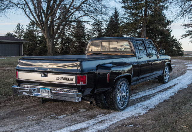 1989 Chevrolet C30 Dually Silverado Tow Rig Super Clean Runs Great