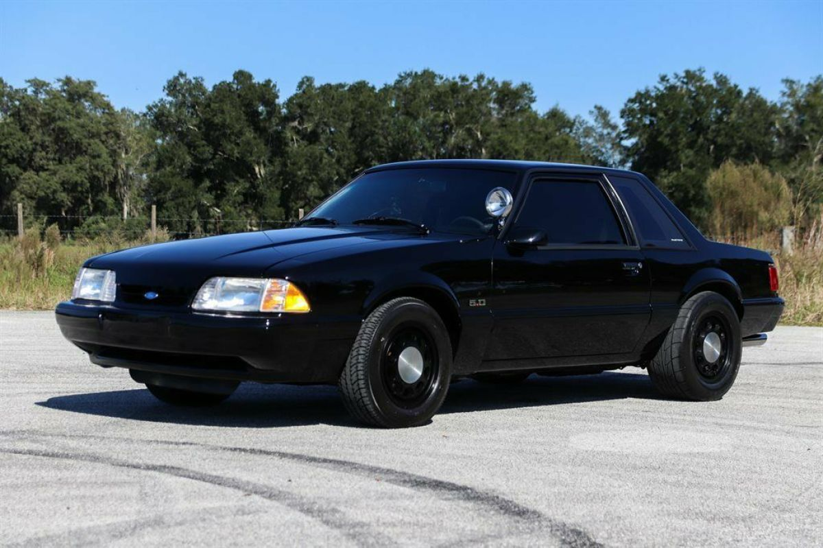 1989 Ford Mustang, Black with 13,731 Miles available now ...