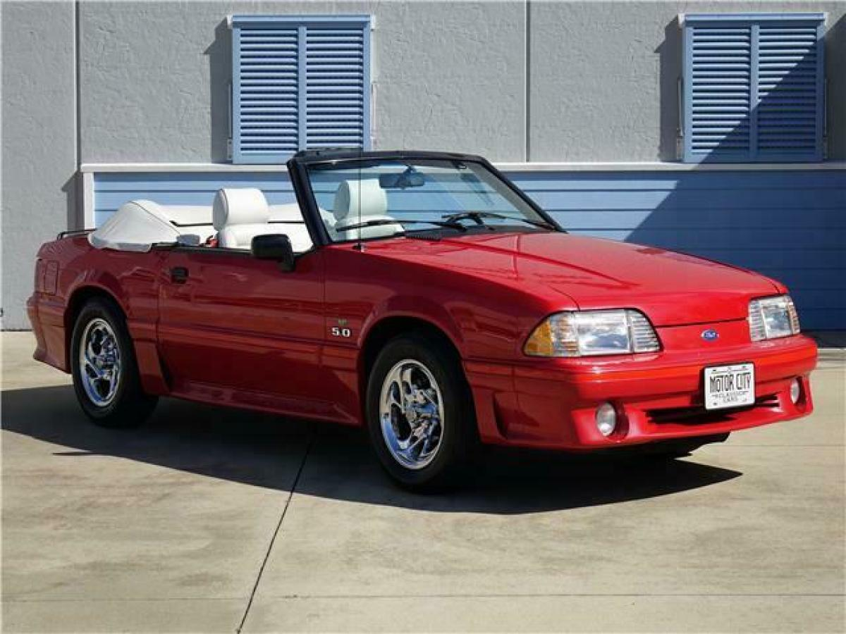 How Much Is A 1989 Mustang Gt Worth