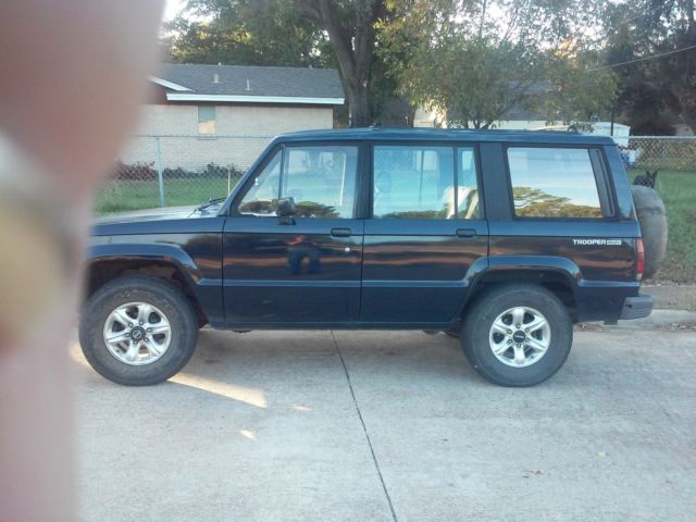 1989 Isuzu Trooper LS Sport Utility 4-Door 2 6L less with