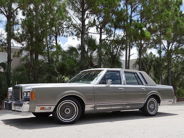 1989 Lincoln Towncar Cartier No Reserve Low Miles No Rust Florida Car For Sale In Miami Florida United States