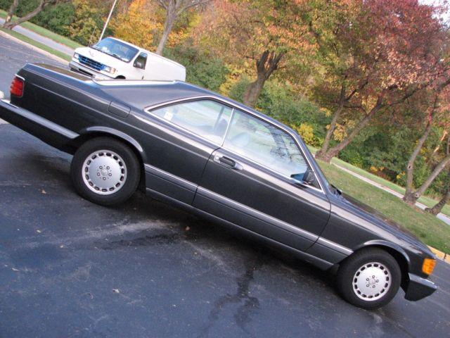 1989 Mercedes Benz 560SEC^ 2 Door Coupe^ Very Rare^ Well ...