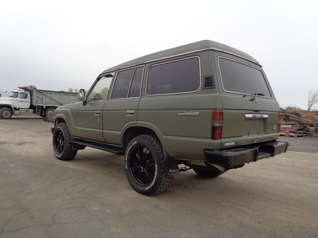 1989 toyota land cruiser 60 suv 4x4 diesel low miles no reserve for sale in morrisville. Black Bedroom Furniture Sets. Home Design Ideas