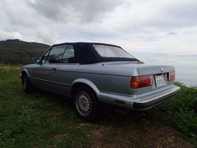 1990 bmw 325i convertible e30 m20b25 5 speed manual 3 73 lsd!