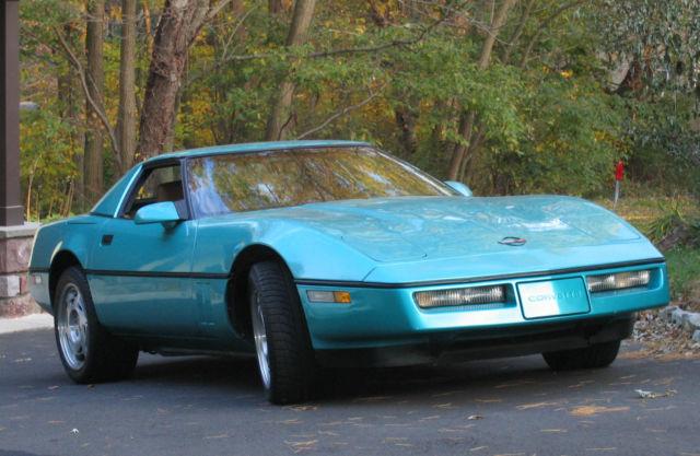 1990 Chevrolet Corvette Convertible L98 350 (5 7L) Automatic