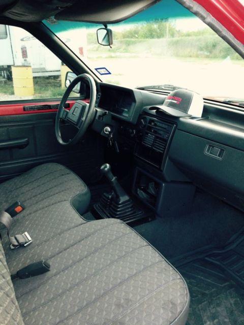 1990 Mazda B2600 5 Speed 4x4 2 6l For Sale In Catarina