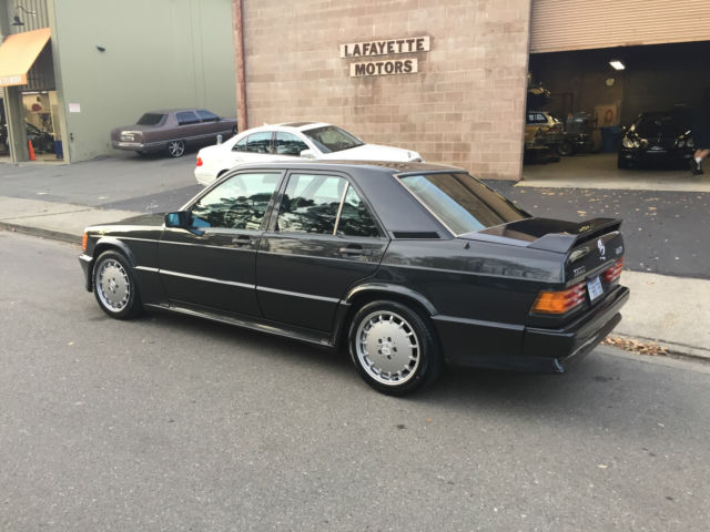 1990 mercedes benz 190e 2 5 16v cosworth clear