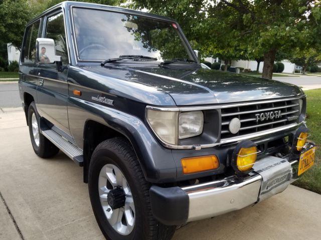 1990 Toyota Land Cruiser Diesel Lj70 In Excellent