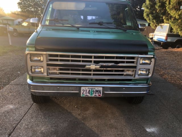 1991 chevy g20 shorty conversion van for sale in Vancouver