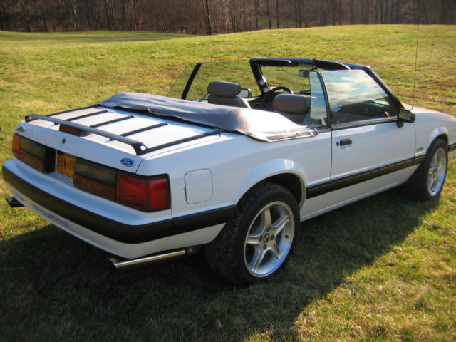 1991 fox body mustang convertible excellent condition for sale in stephentown new york. Black Bedroom Furniture Sets. Home Design Ideas