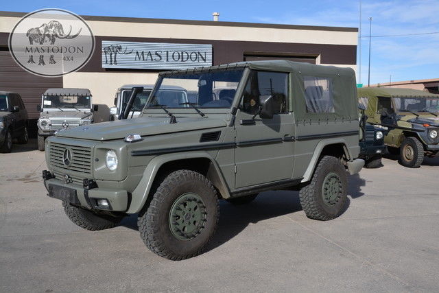 1991 green 4x4 6 cyl 5 speed manual g wagon 463 diesel for for Mercedes benz g series price