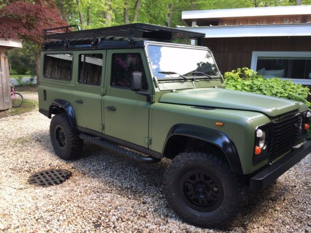 Land Rover Defender Paint Job >> 1991 Land Rover Defender 110 LHD 200tdi 5dr for sale in Southampton, New York, United States