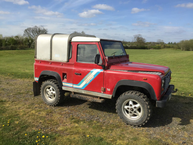 1991 land rover defender 90 pick up truck 200tdi tdi diesel solid reliable for sale in rincon. Black Bedroom Furniture Sets. Home Design Ideas