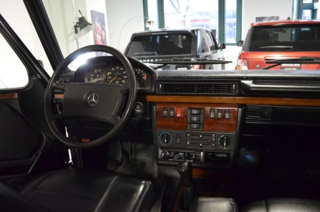 Mercedes Benz G Wagon For Sale >> 1991 Mercedes-Benz 300GE Cabrio G-Wagon W463 Convertible Black for sale in Chicago, Illinois ...