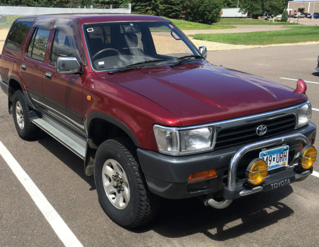 1991 toyota hilux surf ssr x 4x4 turbo diesel 4runner postal delivery for sale in minneapolis. Black Bedroom Furniture Sets. Home Design Ideas