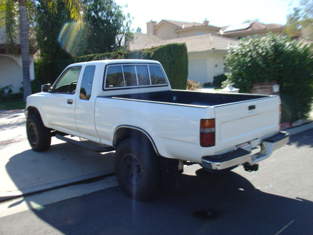 1991 toyota pick up truck 4x4 1989 1990 1992 pickup tacoma for sale in los angeles california. Black Bedroom Furniture Sets. Home Design Ideas