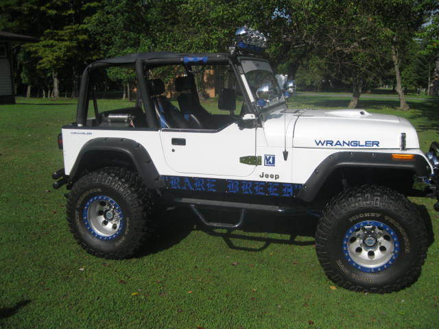 1992 Jeep Wrangler Yj Custom Built 360 Mopar Lifted With