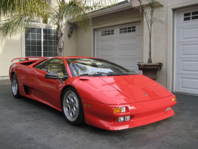 1992 Lamborghini Diablo 9 424 Original Miles For Sale In El