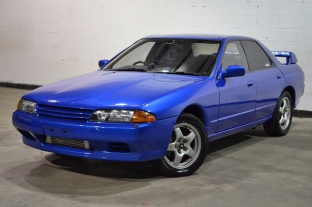 1992 nissan skyline gts 4 bayside blue r32 rb20det. Black Bedroom Furniture Sets. Home Design Ideas
