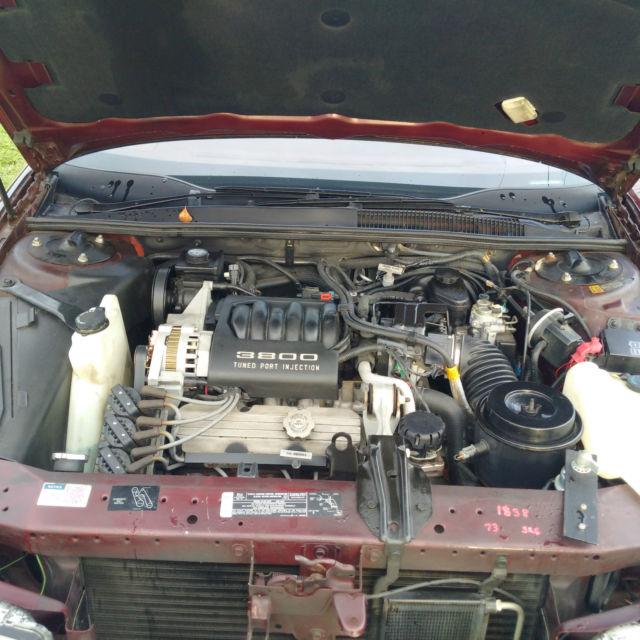 Buick Regal 2 Door Coupe: 1993 Buick Regal Limited Sedan 4-Door 3.8L For Sale In
