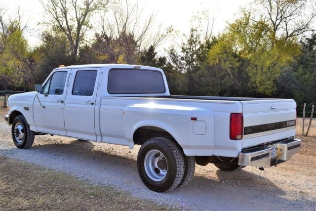 1993 Ford F 350 7 3l Turbo Diesel Crew Cab Dually Perfect