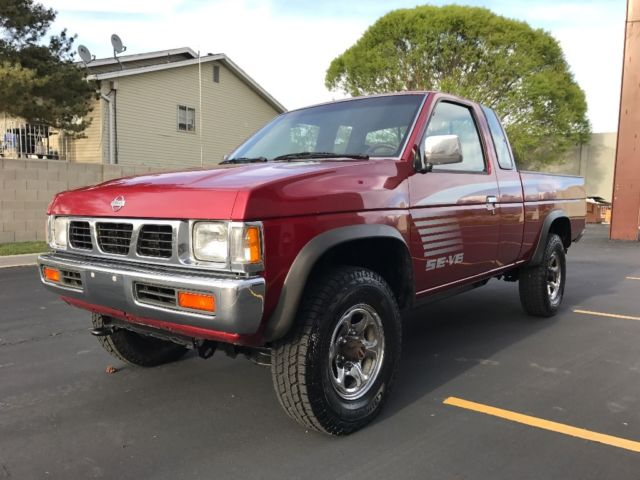 1993 Nissan D21 Hardbody Pick Up 4x4 Extended King Cab 4