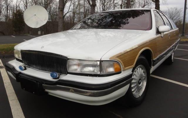 1994 buick roadmaster estate wagon white 91k miles l k nr for sale in rowley massachusetts. Black Bedroom Furniture Sets. Home Design Ideas