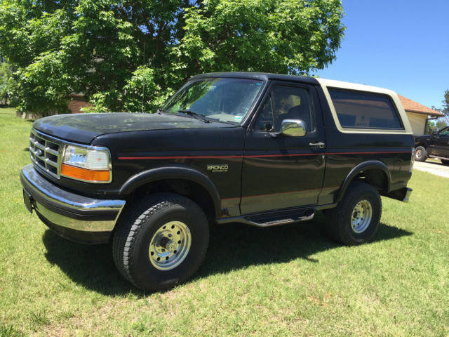 1994 ford bronco eddie bauer sport utility 2 door 5 8l for sale in brentwood tennessee united. Black Bedroom Furniture Sets. Home Design Ideas
