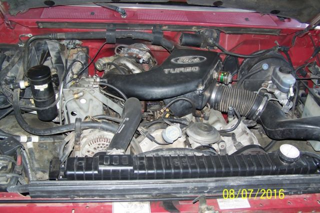 1994 Ford F350 Crew Cab Dually, 7.3 Turbo Diesel engine ...