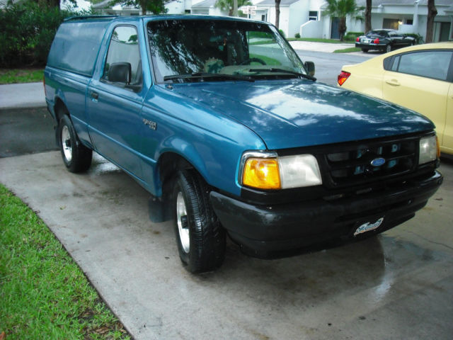 1994 Ford Ranger Xlt 2 3cyl 5 Spd With Topper Air