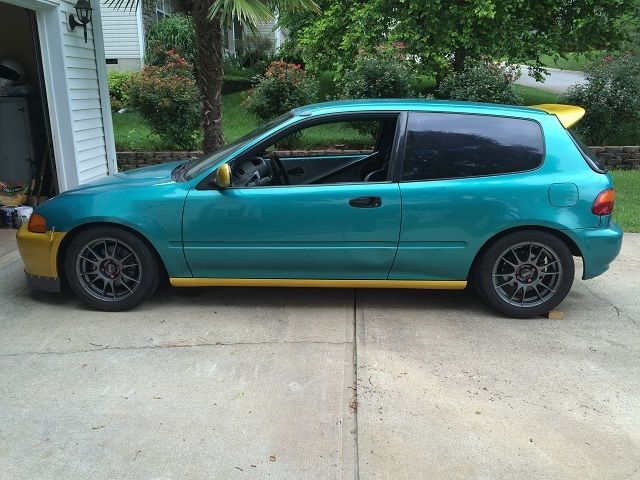 1994 honda civic eg hatch race car for sale in simpsonville south