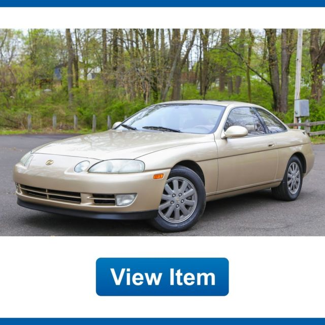 1994 lexus sc400 v8 coupe super low 59k mi califronia. Black Bedroom Furniture Sets. Home Design Ideas