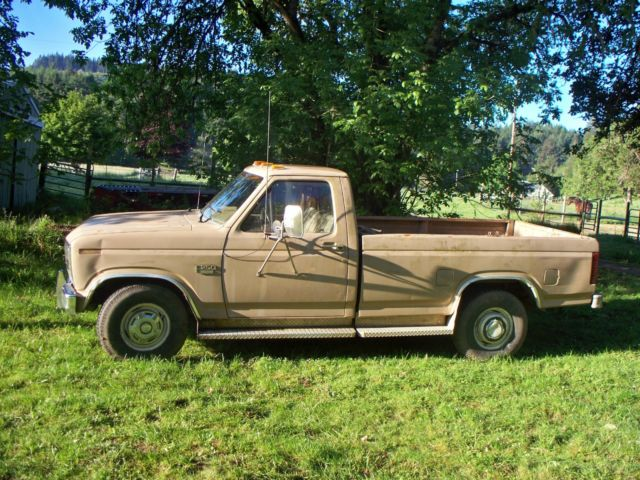 84 Ford F250 Diesel For Sale In Creswell Oregon United