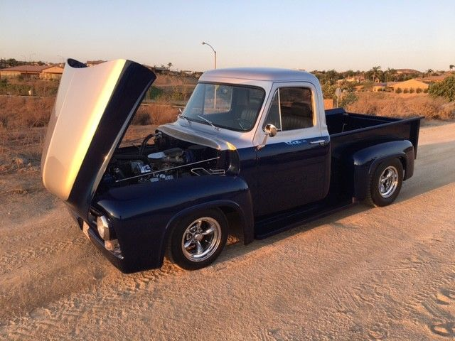 BEAUTIFUL 1955 FORD F100 PICKUP FOR SALE, FULLY LOADED!! for