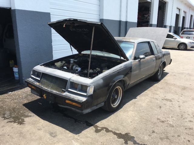 Buick grand national needs work no reserve for sale in for West palm beach motor vehicle registration