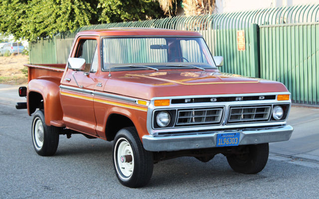 California Original  1977 Ford F
