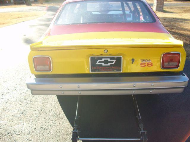 chevrolet vega drag car race car for sale in Lahoma, Oklahoma