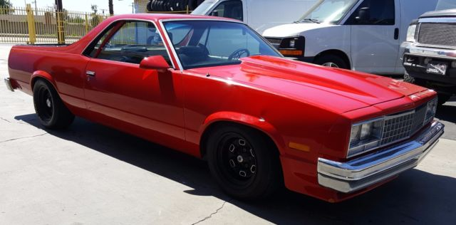 CHEVY EL CAMINO WITH 350 STROKER AND SUPERCHARGED for sale