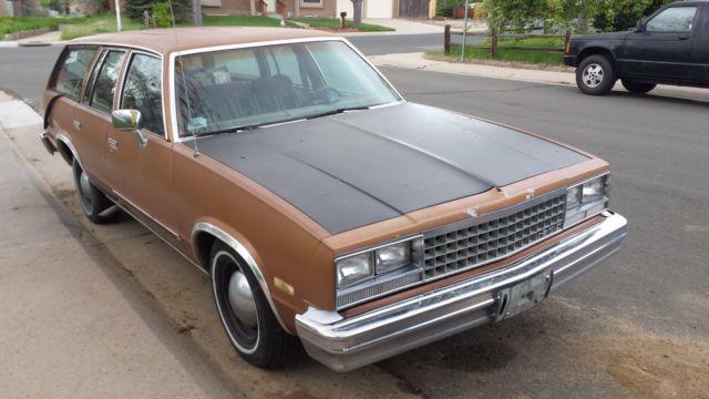 Chevy malibu classic wagon, 350 motor swap, sleeper G-Body for sale