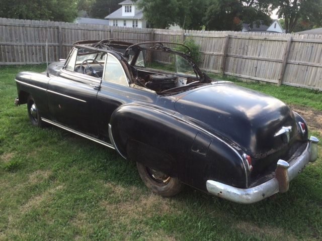 convertible 1950 chevy one owner orig title ie pwr top rat rod truck 1955 for sale in. Black Bedroom Furniture Sets. Home Design Ideas