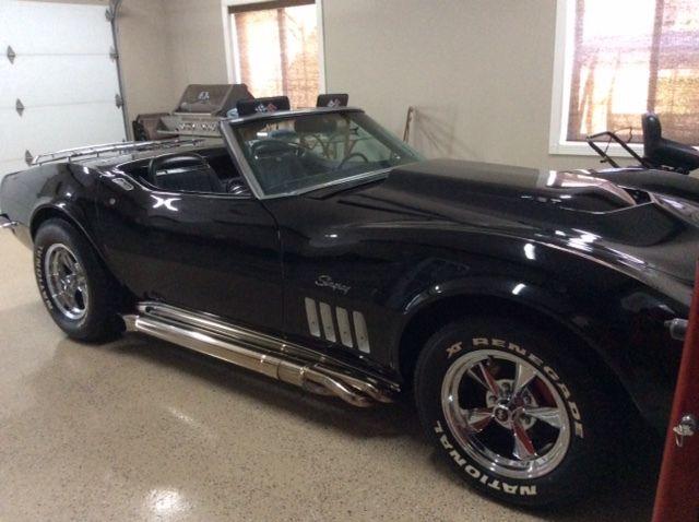 1969 Corvette For Sale >> CORVETTE STRINGRAY CONVERTIBLE 1969 BLACK 2 DOOR for sale in Fossambault-sur-le-Lac, Quebec, Canada