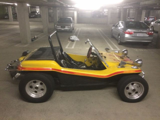 Fully Electric Meyers Mand Dune Buggy With Rebuilt Vw Beetle Undercarriage