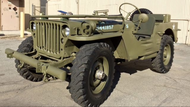 fully restored 1950 ford gpw world war ii military jeep for sale in saint helena california. Black Bedroom Furniture Sets. Home Design Ideas